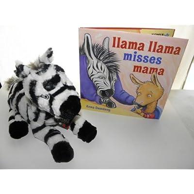 Kohls Cares Llama Llama Misses Mama & Zebra Plush: Toys & Games