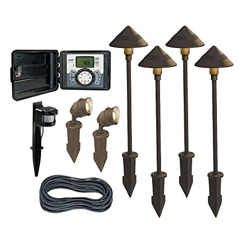 LightMaster 86715C Outdoor Lighting Kit with 60W Controller (9 Piece)