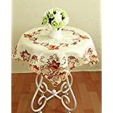 Dancing Party crochet tablecloth crochet Thanksgiving table mats wedding Dinner Table Cover