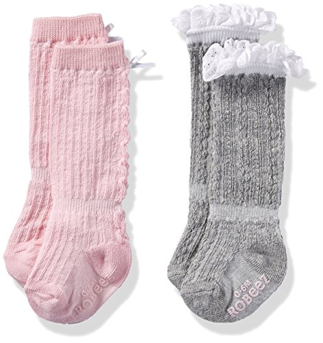 Robeez Girls 2pk Socks Application product image