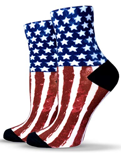 Unisox Americana Socks - USA American Flag Socks - #FLAG ()