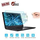 2-Pack 15.6 Inch Laptop Screen Protector -Blue Light and Anti Glare Filter, FORITO Eye Protection Blue Light Blocking & Anti Glare Screen Protector for 15.6' with 16:9 Aspect Ratio Laptop
