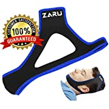 #4: PREMIUM Anti Snore Chin Strap by ZARU [UPGRADED VERSION] - Advanced Snoring Aid Scientifically Designed To Stop Snoring Naturally and Give You The Best Sleep of Your Life! (Fits Most)