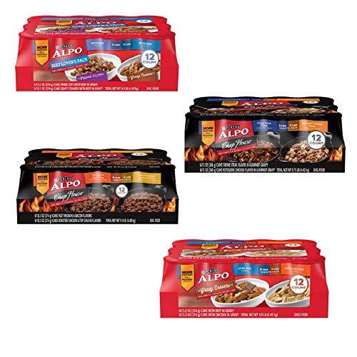 Purina ALPO Chop House Wet Dog Food 12 13.2 oz. Cans