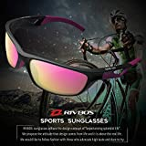 RIVBOS Polarized Sports Sunglasses Driving