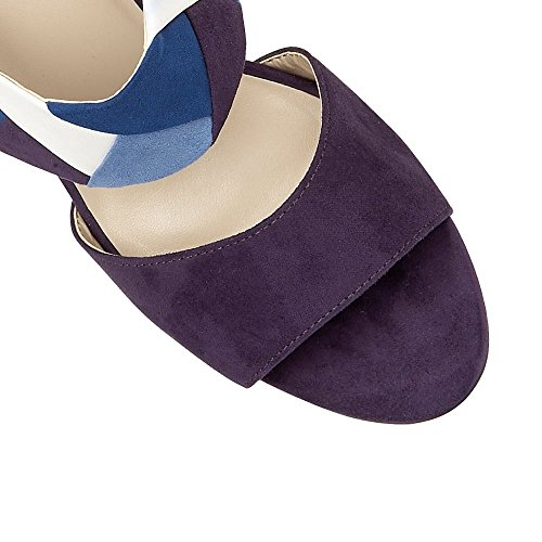 Lotus Alpha Womens Keil Ferse Kleid Sandalen Blue Multi