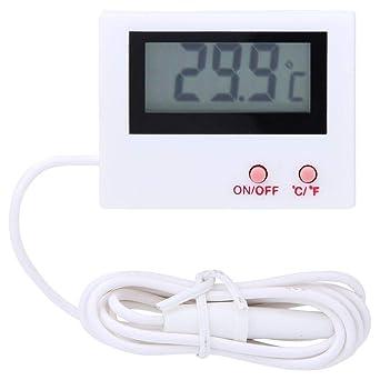 Termómetro para refrigerador, mini termómetro de almacenamiento en ...