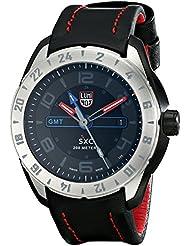 Luminox Mens 5127 SXC PC Carbon GMT Analog Display Analog Quartz Black Watch