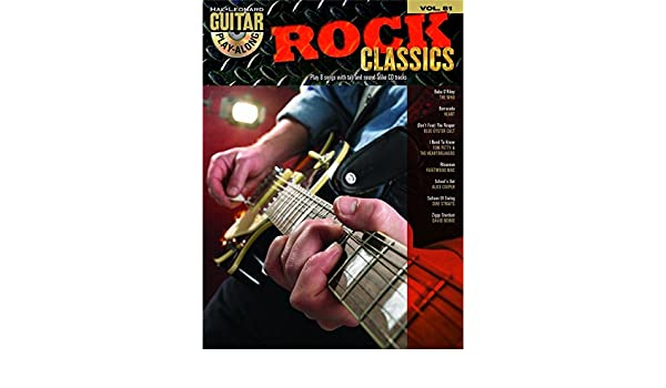 Guitar Play-Along Volume 81: Rock Classics. Partituras, CD para ...