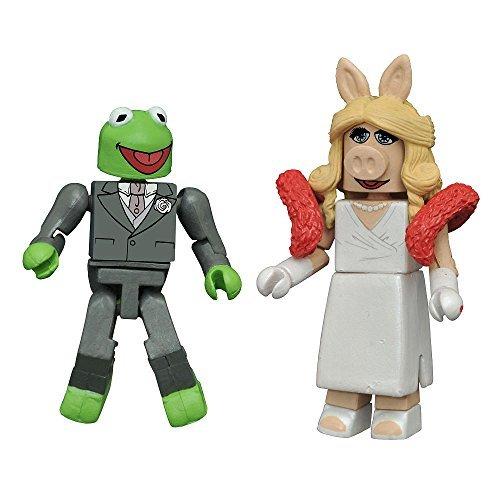 SDCC 2016 Exclusive Muppets Formal Kermit & Ms. Piggy Minimates 2 Pack by Minimates ()