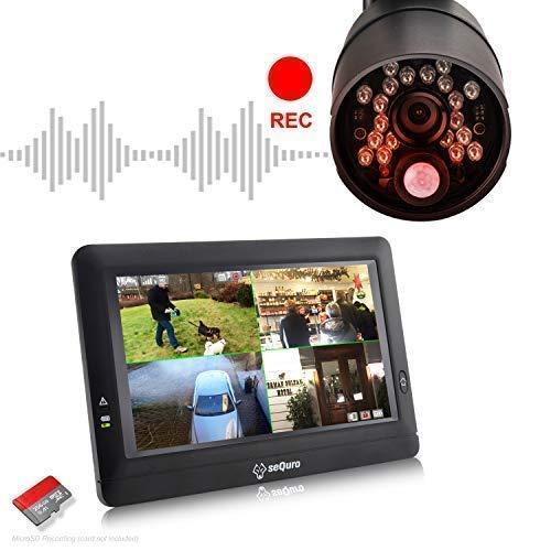 Sequro GuardPro DIY Long Range Wireless Video Surveillance ...