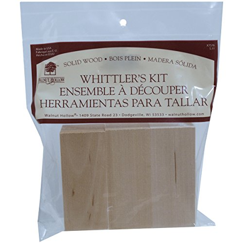 Darice WH4008 Walnut Hollow Whittlers