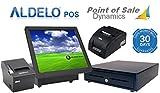 Aldelo Pro Point of Sale System Bundle for Restaurant Includes Kitchen Printer