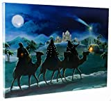 """Christmas Light Up Canvas by Clever Creations 