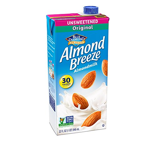 Almond Breeze Almondmilk, Unsweetened Original, 32 Fluid Ounce