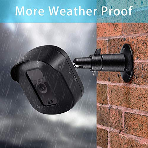Blink Outdoor Camera Wall Mount Bracket, Hard Protective Case and Metal Mount for Blink XT2 Cameras Weather Proof Adjustable Indoor Outdoor Mount and Cover for Blink Home Security (1 Pack, Black)