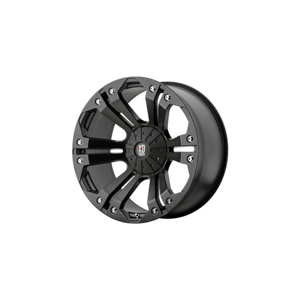 XD SERIES MONSTER MATTE BLK 5X4.5/5 +18MM   18X9