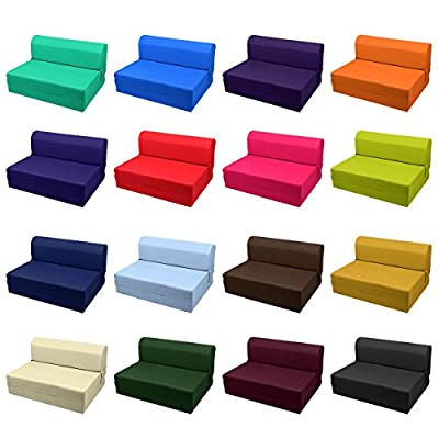 MaGshionSleeper Chair Folding Foam Bed Sized Single Size, Twin Size or Full Size
