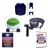 KKamp Continuous Brew Kombucha BREWER ONLY - BL w/ Stand + Essential Heat Strip + Tee/Cap Set