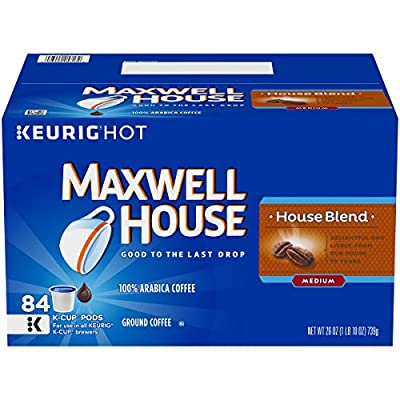 Maxwell House House Blend Keurig K Cup Coffee Pods, 155 ct Box from MAXWELL HOUSE