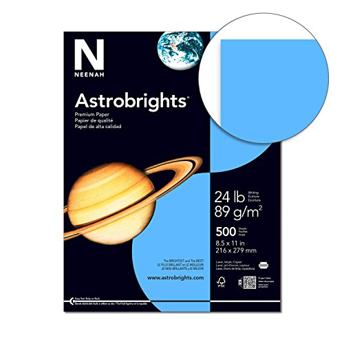 Astrobrights Color Paper 8 5 X 11 24 Lb 89 Gsm