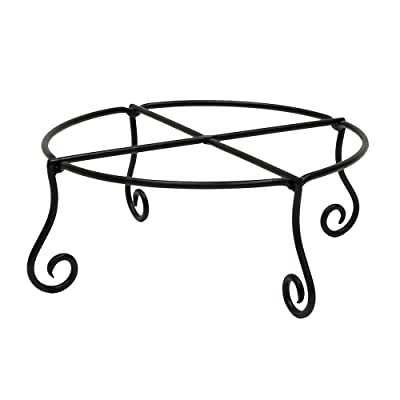 Achla Designs Piazza Flower Pot Plant Stand, Large : Garden & Outdoor