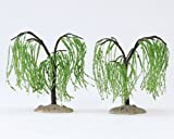 Lemax Village Collection 4' Weeping Willow Trees 2-Piece Set #14591