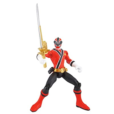 Power Ranger Samurai Samurai Ranger Fire Action Figure: Toys & Games
