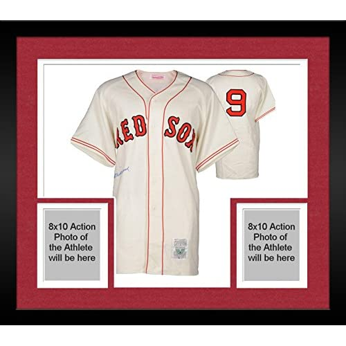 on sale Framed Ted Williams Boston Red Sox Autographed Cooperstown ...