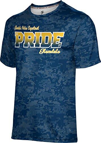 ProSphere Men's Glendale Police Department Digital Shirt (Apparel) - Glendale Shopping