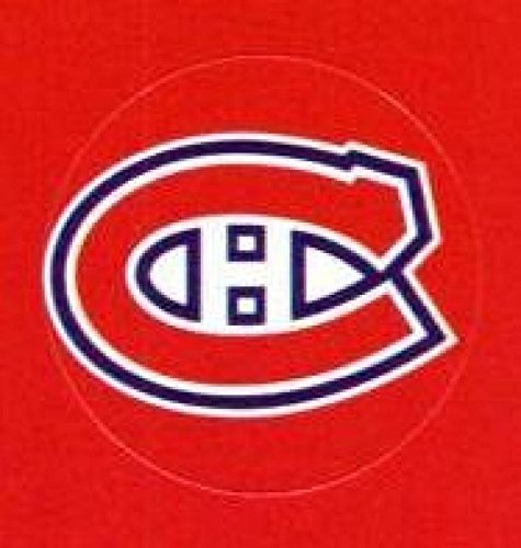 Montreal Canadiens Lot of 10 NHL Logo Stickers - 1
