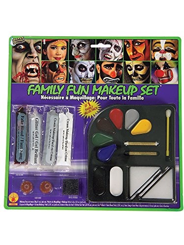 Rubie's Costume 19302 Co Costume Family Costume Makeup Kit, One Size, Multicolor ()
