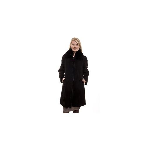 Moncuir - Abrigo - Básico - Manga Larga - para mujer marrón marrón 40