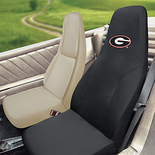 FANMATS NCAA University of Georgia Bulldogs Polyester Seat Cover