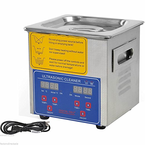 Price comparison product image Jakan 2L Household Diy Ultrasonic Cleaner Jewellery Ultrasound Washer to Clean the Surface / Gap / Slit / Blind Hole of Mobile, Camera, Glass, Watch, Jewelry, Denture.