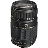 Tamron AF 70-300mm f/4.0-5.6 Di LD Macro Zoom Lens with Built In Motor for Canon Digital SLR Cameras With PixiBytes Micro-Fiber Cleaning Cloth