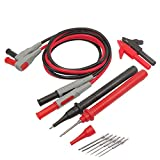SainSmart P1300B 1 Set Clamp Multimeter Replaceable Probe Test Lead Kits+Alligator Clips