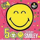 500 Stickers Smiley - C'EST CADEAU