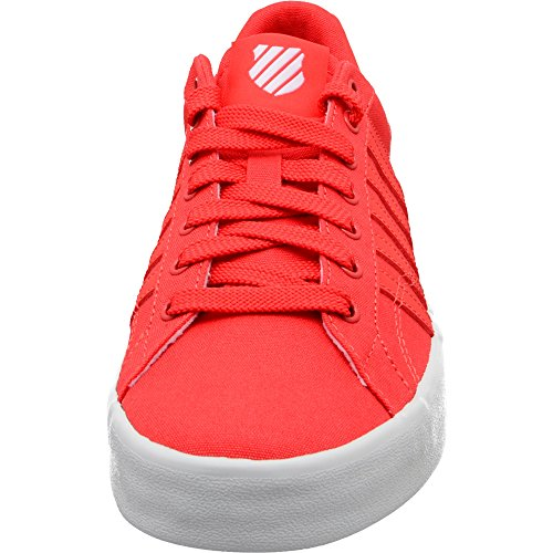 K-swiss Belmont Womens Fashion Sneaker Cayenne / White Canvas