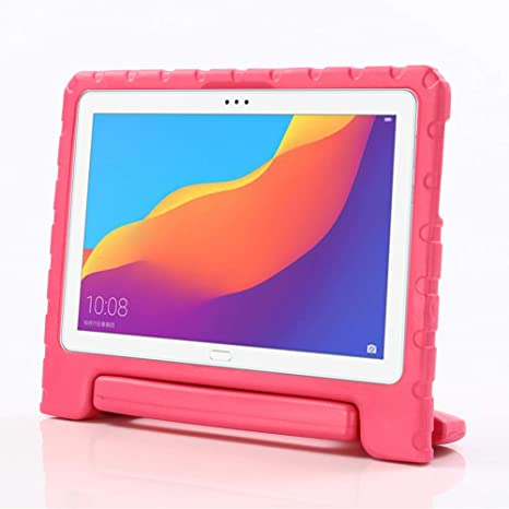 cozy fresh 36b43 feac4 i-original Compatible Huawei MediaPad T5 10 10.1-In Case,Shock Proof Huawei  Honor Play Pad 5 EVA Case for Kids Bumper Cover Handle Stand,Convertible ...