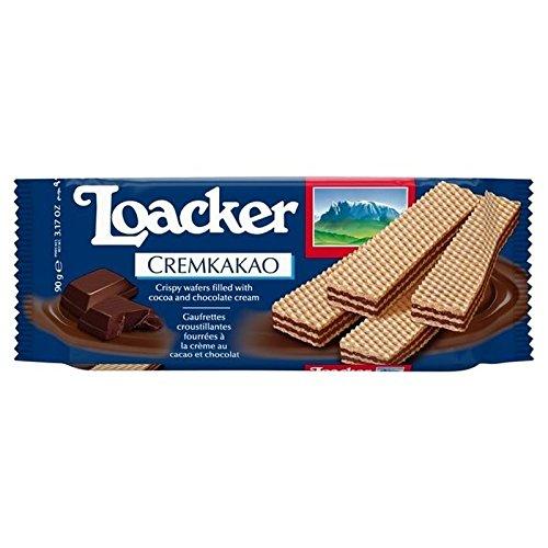 (Loacker Cremkakao 90g - Pack of 6)