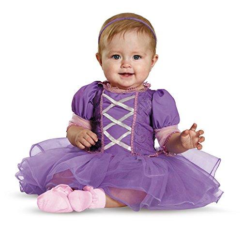 Rapunzel Baby Costumes - Disguise Baby Girls' Rapunzel Prestige Infant Costume, Purple, 6-12 Months