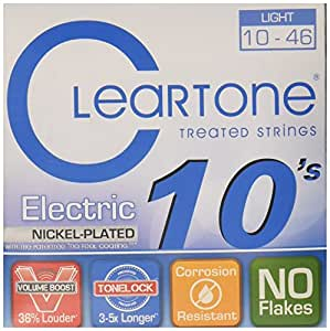 cleartone 9410 electric guitar strings light musical instruments. Black Bedroom Furniture Sets. Home Design Ideas