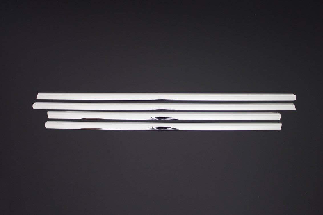 4 unidades Cubierta cromada para marcos de ventanas de acero inoxidable para ML Class W164 SUV 2005-2011