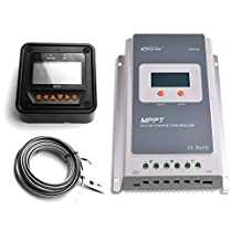 EPEVER 30A MPPT Solar Charge Controller Tracer A 3210A + Remote Meter MT-50 Solar Charge With LCD Display for Solar Battery Charging