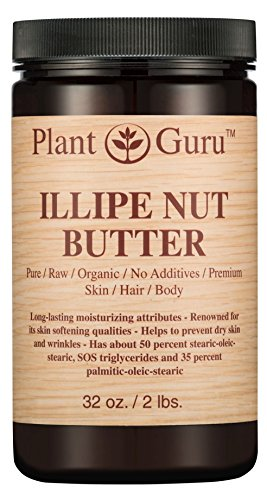 Illipe Nut Body Butter 32 oz. 100% Pure Raw Fresh Natural Co