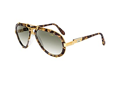 Sunglasses Cazal Vintage 642 /3 col.065 Crystal/Gold 100% Authentic New FpSQK