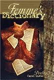Femme's Dictionary, Carol Guess, 0934971862