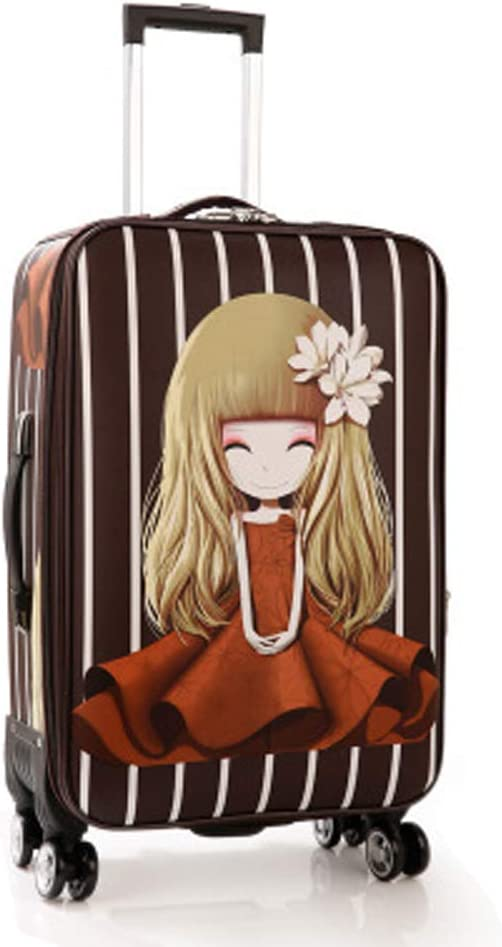 YSZG Luggage Female Universal Wheel Travel Luggage Student Password Box Trolley case Factory,