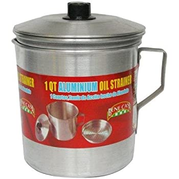 Amazon Com Cook N Home 1 5 Quart Stainless Steel Oil
